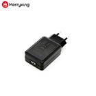 CB GS CE ROHS approval Universal USB adapter 5V 300mA EU wall mount USB charger for Rechargeable battery