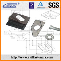 Clip / bolt / pad / nut / washer for A100 crane rail