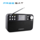 Freesat DAB+ FM Portable Rechargeable Radio DAB Mini Receiver with USB Cable BT4.0 Optional Remote Control