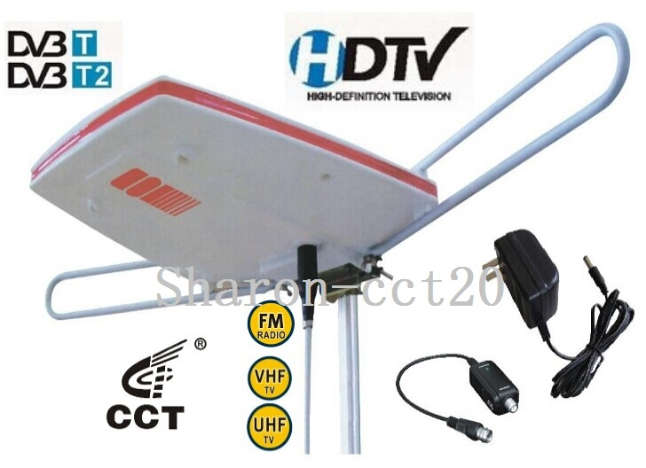 Caravan Antenna Model no. DAE-100C Outdoor Amplified TV Antenna Aeriall for Car/Boat DVB-T2 Digital TV Camping Car Antenna Lte