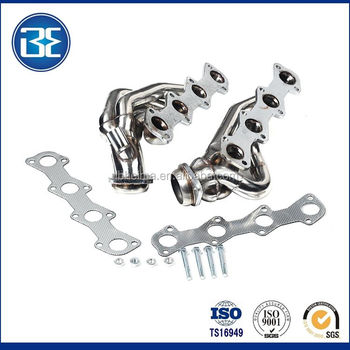 Auto Car Parts Shorty Performance Headers Exhaust For Ford F