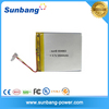 SUNB Hot sale 904863 polymer battery for power tools 3.7v 3500mah