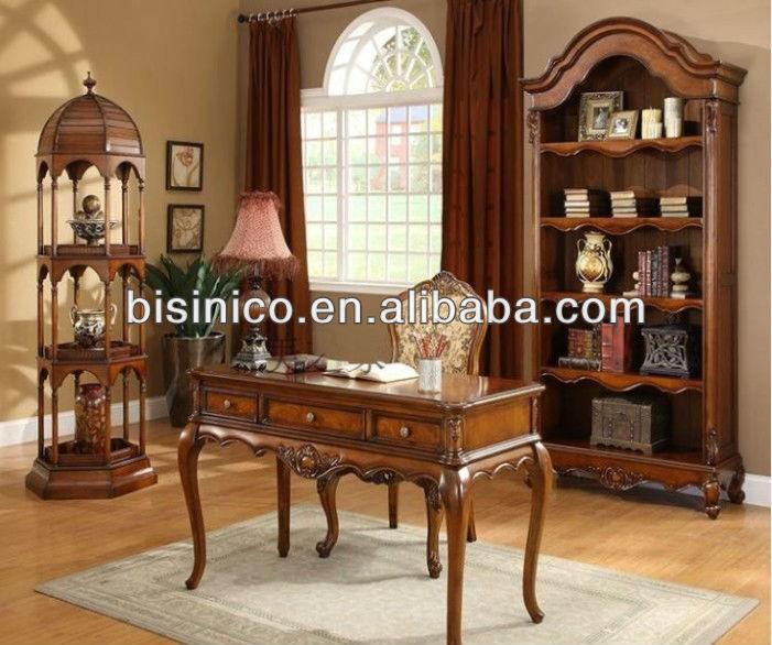 Estilo americano diseño soild madera juego de escritorio de ...