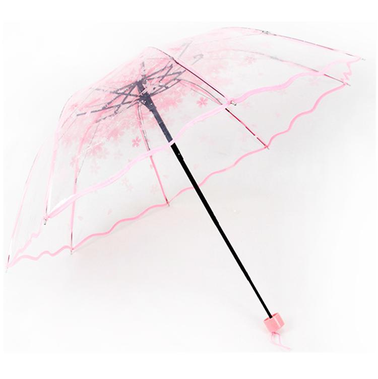 Paraguas plegables baratos para paraguas de botella de vino en promoción
