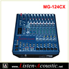 MG-124CX 12 Channel Power USB Audio Sound Mixer Console