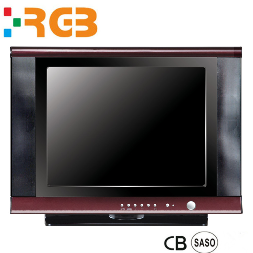 hot sale brand new CRT TV 14''17''20''21'' inch small size SKD SKT Television