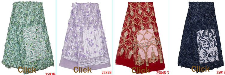 Factory sale french glitter wedding fabric dress lace for clothes