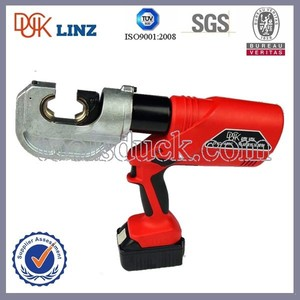 16-400mm 12 tons hydraulic electrical crimper battery powered crimping tool hydraulic cable crimpping