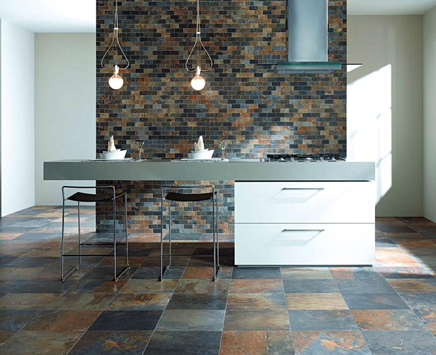 Chinees Natuursteen Tegels : Goedkope chinese natuursteen roestige leisteen tegels voor vloeren