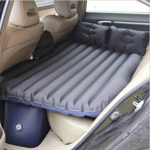 Portable Travel Car Back Seat Sleep Rest Inflatable Mattress Air Bed Car Bed