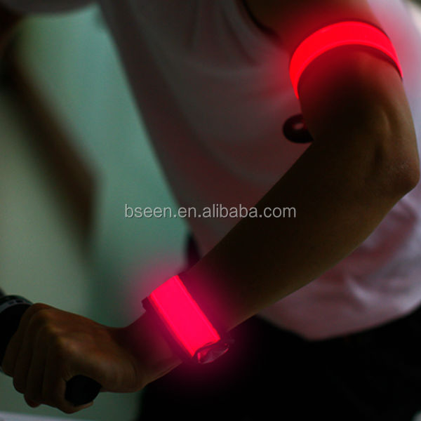 Hot new products bracelet with led light for night running