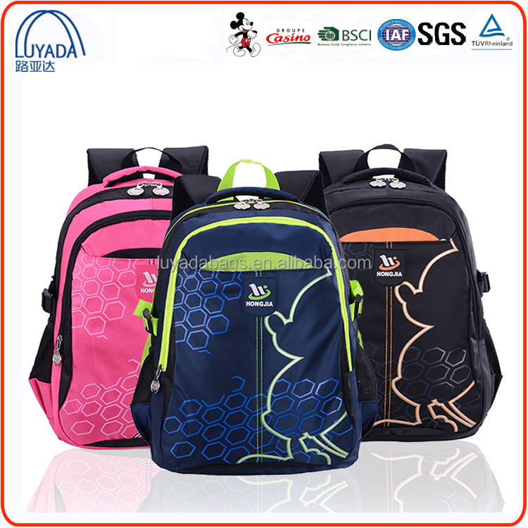 Wholesale 2016 New Brand Junior High Class Backpacks Colleage