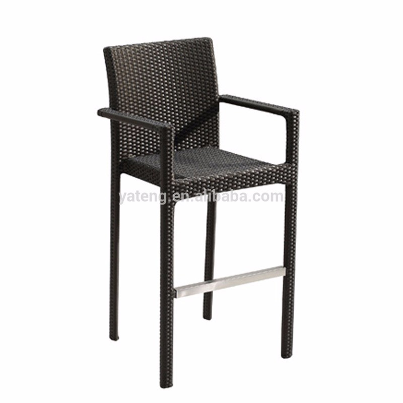 Pub Table And Chairs Cheap: Cheap Aluminum Rattan Bar Table And Stool Used Bistro Set
