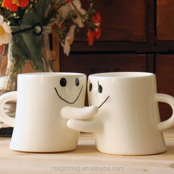 Cute Novelty Couple Love Mugs Tea Cup Coffee Milk Cup