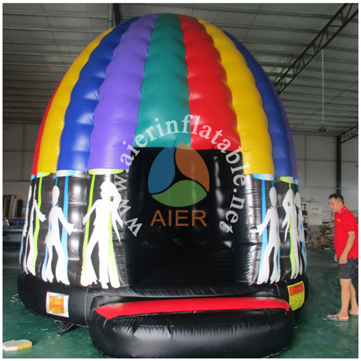 Inflatable Jumping Disco Moonwalks Bouncy Castle,Inflatable Rugby Jumping Bouncer