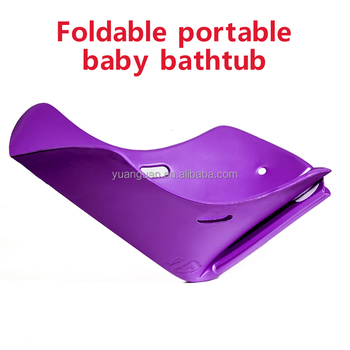 Foldable Portable Baby Bath Tub Water Storage Plastic Product ...