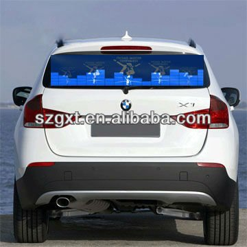 Equalzier el panel Wholesale Sound Activated Flashing EL Car Stickers