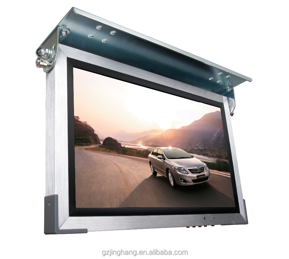 24V 15 Inch 17 Inch 19 Inch 22 Inch Bus Roof Mounted LCD/ LED Monitor