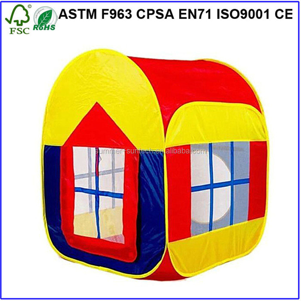 Playhouse Children Tent Game room Indoor Kids Play Tent Ocean Ball Pit Pool Kids Play Tent