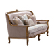 Factory Wholesale American Style Classic Luxury Furniture Two Seaters Fabric Living Room Sofa
