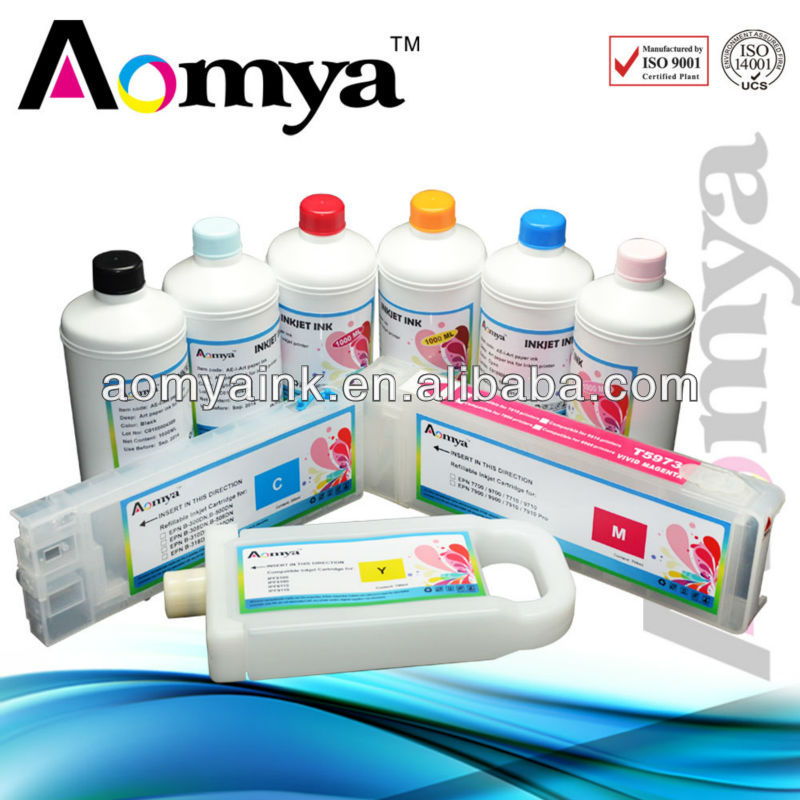 Pigment Ink for Epson 7700/9700/7890/9890/7900/9900 printer ink manufacturer in china
