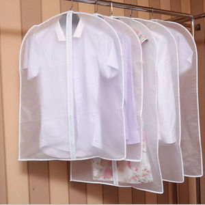2019 Newest Hot Transparent Wardrobe Storage Bags Cloth Hanging Garment Suit Coat Dust Cover