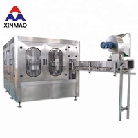 Full Automatic Plastic Bottle Water Filling Plant Price /minral water plant/liner bottle water filling machine