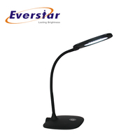Modern Design Clamp Table Lamp Solar Power Led Clip Light for Kids Studying