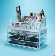 OEM high quality acrylic cosmetic makeup case&bag