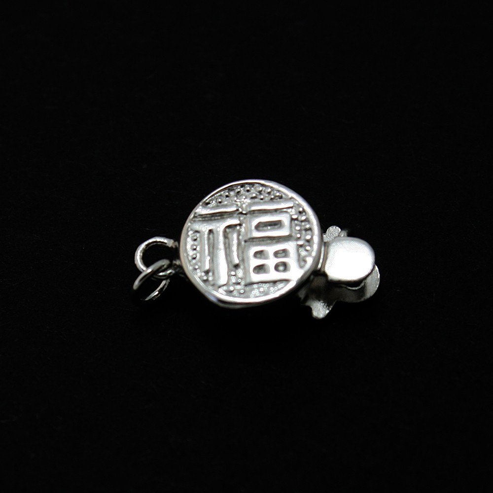 Wholesale 20pcs/lot 925 Sterling Silver Box Clasp Jewelry Clasp 9*15mm DH-BFS025