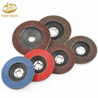 factory wholesale Calcined Aluminum Oxide Abrasive Flap Disc with Plastic Backing for Stainless Steel Grinding and Polishing