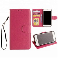 Free Shipping Wallet + Phone Case + Holder 3in1 PU Leather Mobile Phone Cover Flip Pouch Purse for Cash Card and more