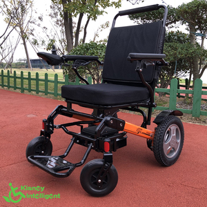 lightweight portable electric power wheelchair for disabled people