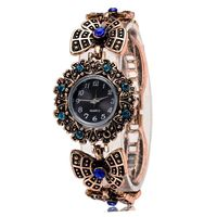 Unique Vintage Authomatic Butterfly Strap Clasp Watch Ladies