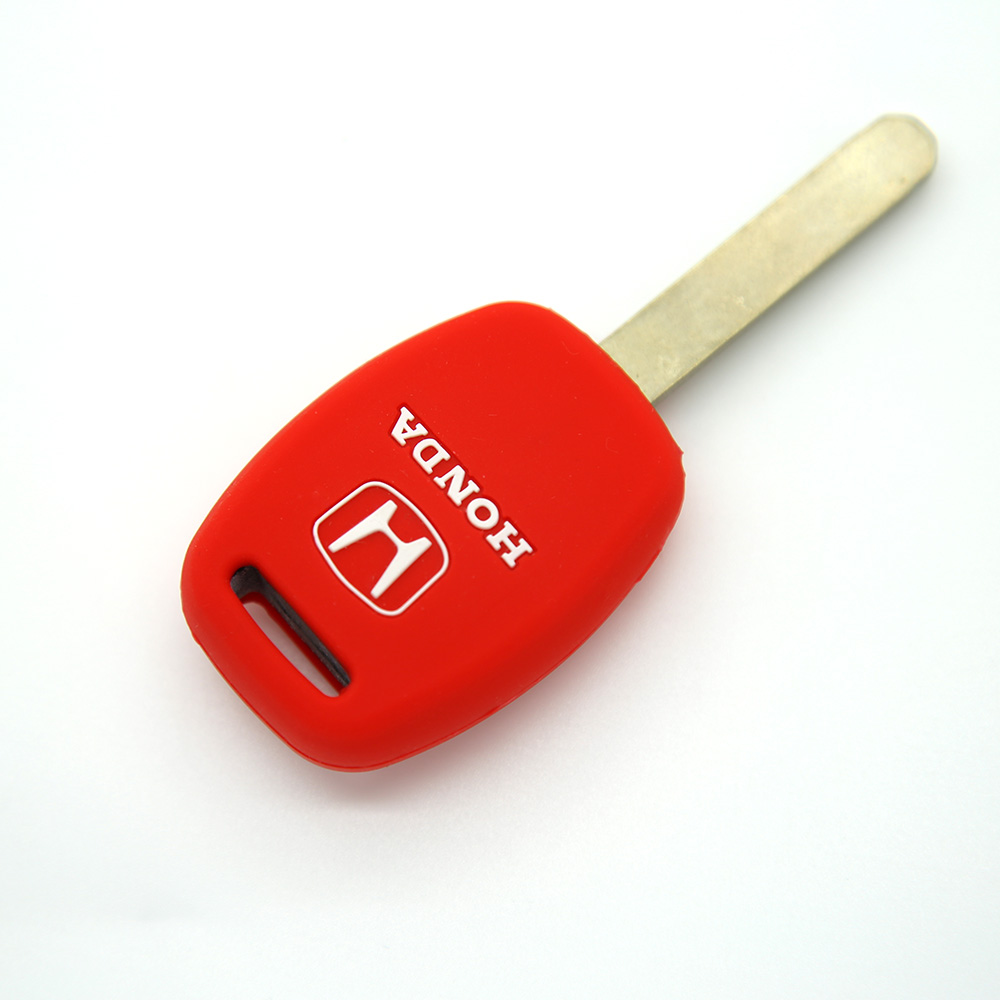 Wholesale key blanks transponder universal car key case shell cover fob blank house with logo remote key for honda