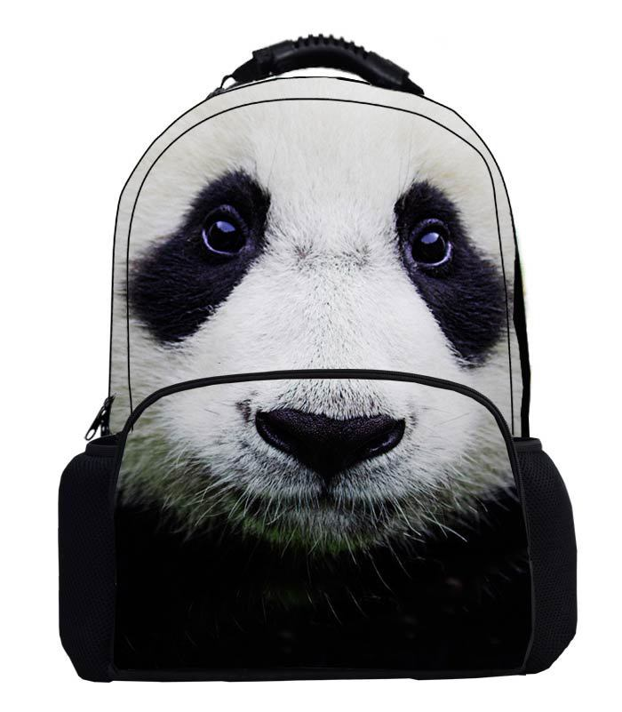 Get Quotations · Fashion Designer 3D Giant Panda printing backpack women  cute book bags for teenagers Personalized Animal prints a7dbdd9ae417d
