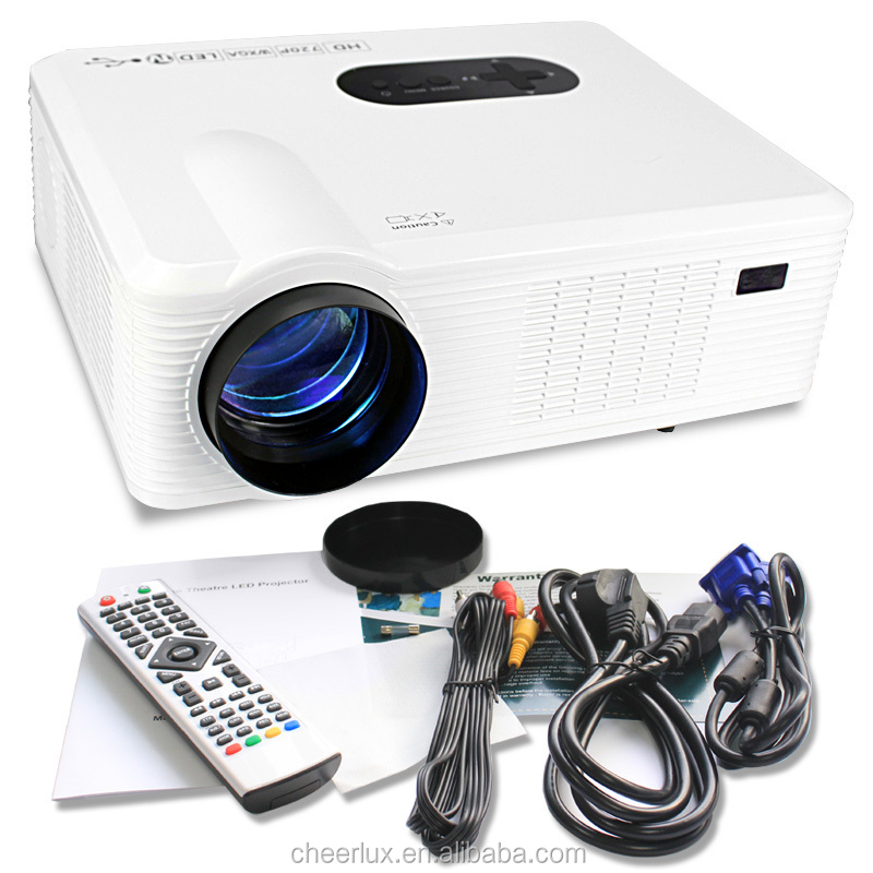 cheerlux oem projector 3000 Lumens home cinema portable data show projector