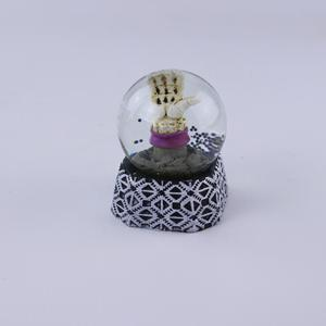 latest halloween decorative 45mm mini snow globes for sale