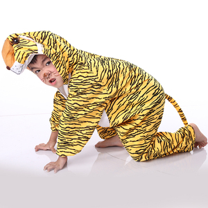 Novelty animal mascot tiger performance costume