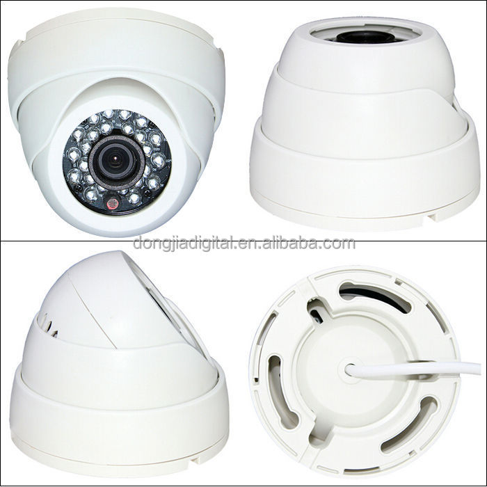2015 New Product 720P HD Plastic Indoor Dome Night Vision Security Camera