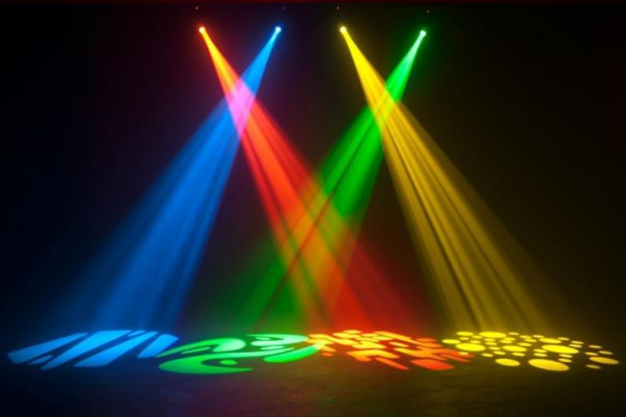 Dj Light Equipment Gobo 10w Led Mini Moving Head,Led Music ...