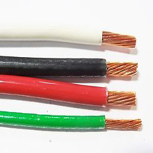 China fabricage elektrische cable 2.5mm