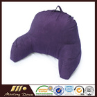 Deluxe Comfort Microsuede Bed Rest - Reading and Bedrest Lounger - Sitting Support Pillow -Soft But Firmly Stuffed Fiberfill - B