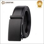 High End Automatic Buckle Genuine Leather Men's Belt
