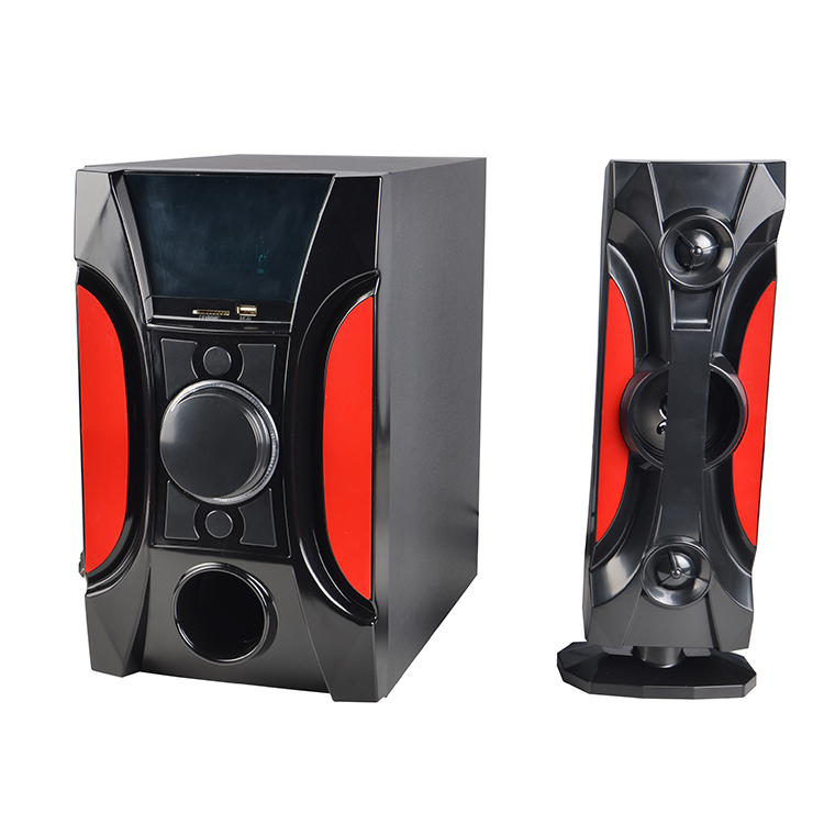 Cheap price 6.5 inch Hifi 3.1 loudspeaker Surround Sound Home Theater Speaker System with seven colorful light