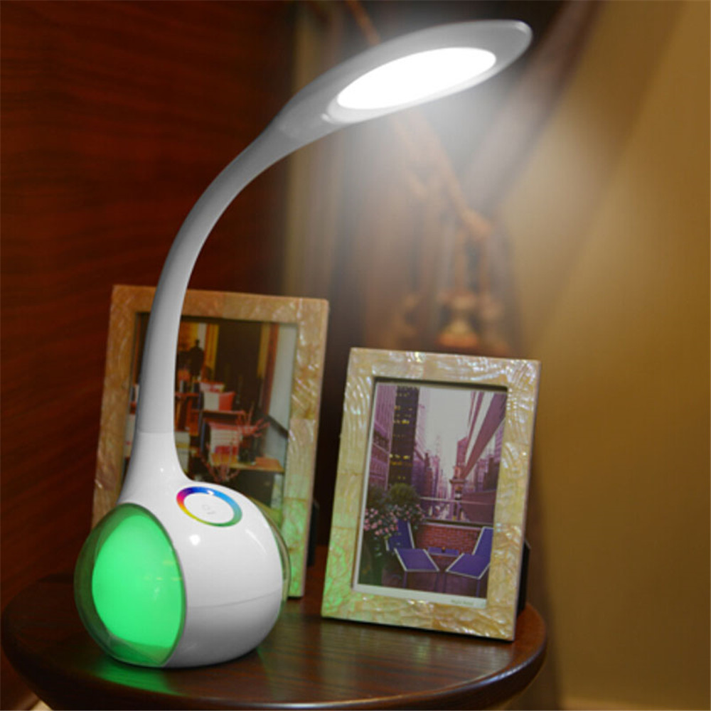 shenzhen factory modern battery led table lamp