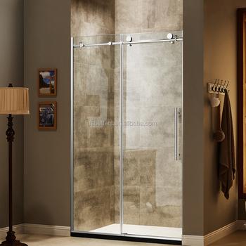 Acrylic 10mm Tempered Glass Shower Doors - Buy Shower Door,Frameless ...