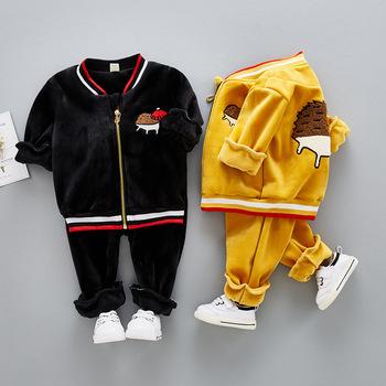 d7a7a8633 S61301b Wholesales Kids Sweat Suits Clothing Suits For Children ...