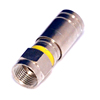 RG59 RG6 F Type Connector Coax Coaxial Compression Fitting