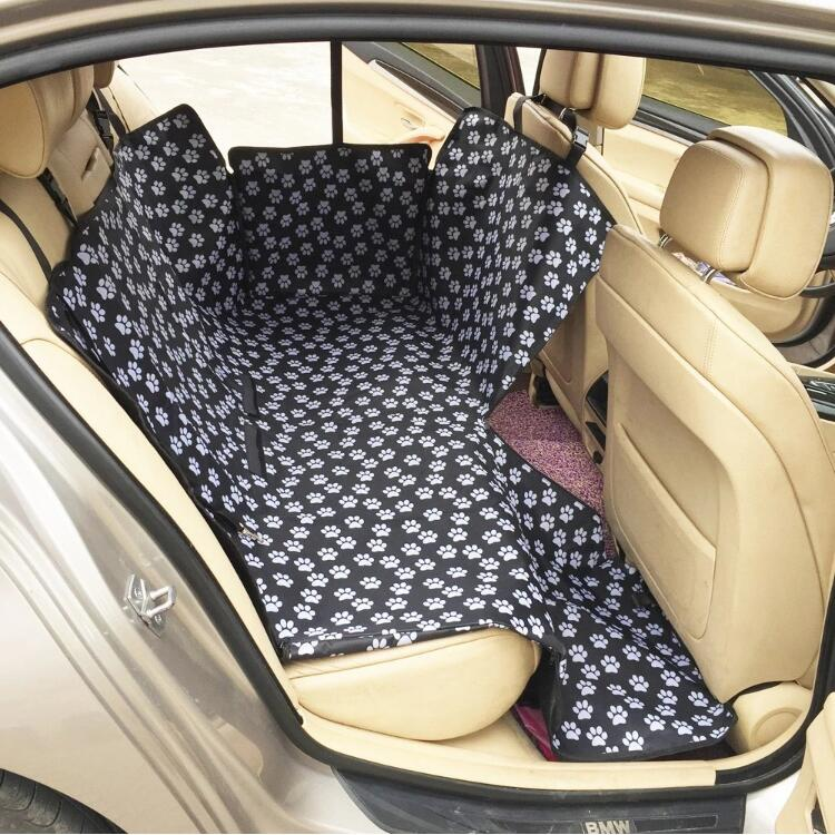 Populaire groothandel auto achterbank protector pet producten waterdichte dog car seat cover